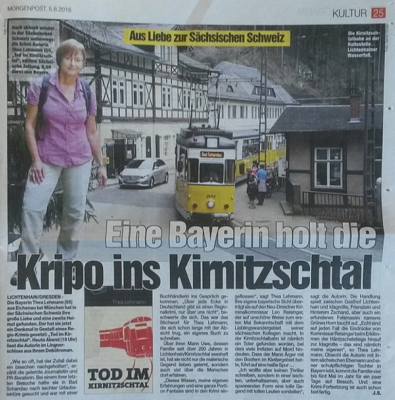 Dresdner Morgenpost am 05.08.2015